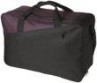 Portland Reisetasche - schwarz/pflaume