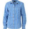 Ladies' Traditional Shirt - weiß/blau
