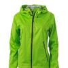 Ladies Outdoor Jacket - spring green/iron grey