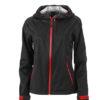 Ladies Outdoor Jacket - black/red