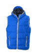 Mens Maritime Vest - nautic blue/white