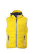 Mens Maritime Vest - sun yellow/white