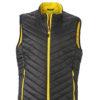Mens Lightweight Vest - black/yellow