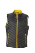 Mens Lightweight Vest - black/yellow