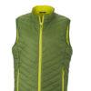 Mens Lightweight Vest - jungle green/yellowVest