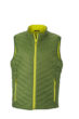 Mens Lightweight Vest - jungle green/yellowVest