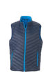 Mens Lightweight Vest - navy/aqua