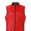 Mens Lightweight Vest - red/carbon