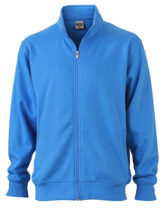 Sweat Jacket - hellblau