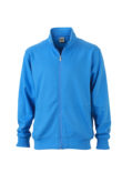 Workwear Sweat Jacket - aqua
