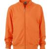 Workwear Sweat Jacket - orange