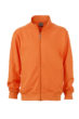 Workwear Sweat Jacket - orange