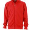 Workwear Sweat Jacket - red