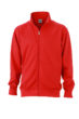 Workwear Sweat Jacket - red