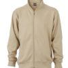 Workwear Sweat Jacket  - stone