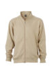Workwear Sweat Jacket  - stone