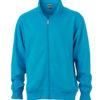 Workwear Sweat Jacket - turquoise