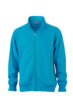 Workwear Sweat Jacket - turquoise