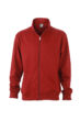 Workwear Sweat Jacket - wine