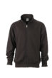 Workwear Sweat Jacket  - black
