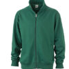 Workwear Sweat Jacket - dark green