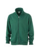 Workwear Sweat Jacket - dark green