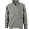 Workwear Sweat Jacket - dark grey