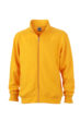 Workwear Sweat Jacket - gold yellow