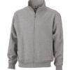 Workwear Sweat Jacket - grey heather