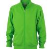 Workwear Sweat Jacket - lime green
