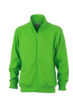 Workwear Sweat Jacket - lime green