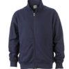 Workwear Sweat Jacket - navy