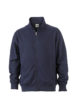 Workwear Sweat Jacket - navy