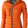 Scotia Leichte Damen Daunenjacke - orange