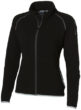 Drop Shot Damen Mikrofleece Jacke - schwarz/anthrazit