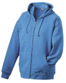 Hooded Jacket James & Nicholson - blue