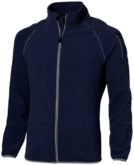 Drop Shot Mikrofleece Jacke - navy/silber
