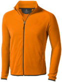 Brossard Mikrofleece Jacke - orange
