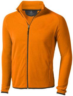 Brossard Mikrofleece Jacke - orange