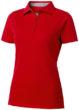 Hacker Damen-Poloshirt - rot/grau