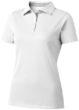 Hacker Damen-Poloshirt - weiß/grau