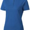 Hacker Damen-Poloshirt - himmelblau/grau