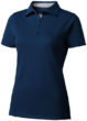 Hacker Damen-Poloshirt - navy/grau