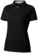 Hacker Damen-Poloshirt - schwarz/grau
