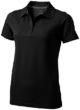 Seller Damen Poloshirt - schwarz