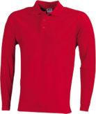 Werbeartikel Poloshirt Langarm Heavy