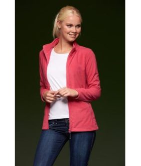 Ladies Basic Fleece Jacket