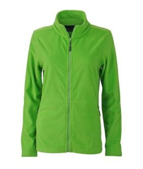 Ladies Basic Fleece Jacket - spring green