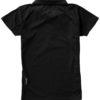 Game Damen Poloshirt - schwarzRückenansicht