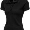 Game Damen Poloshirt - schwarz